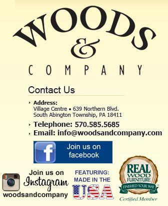 Woods U0026 Company :: Clarks Summit, PA :: Real Wood Furniture :: Unfinished  Furniture